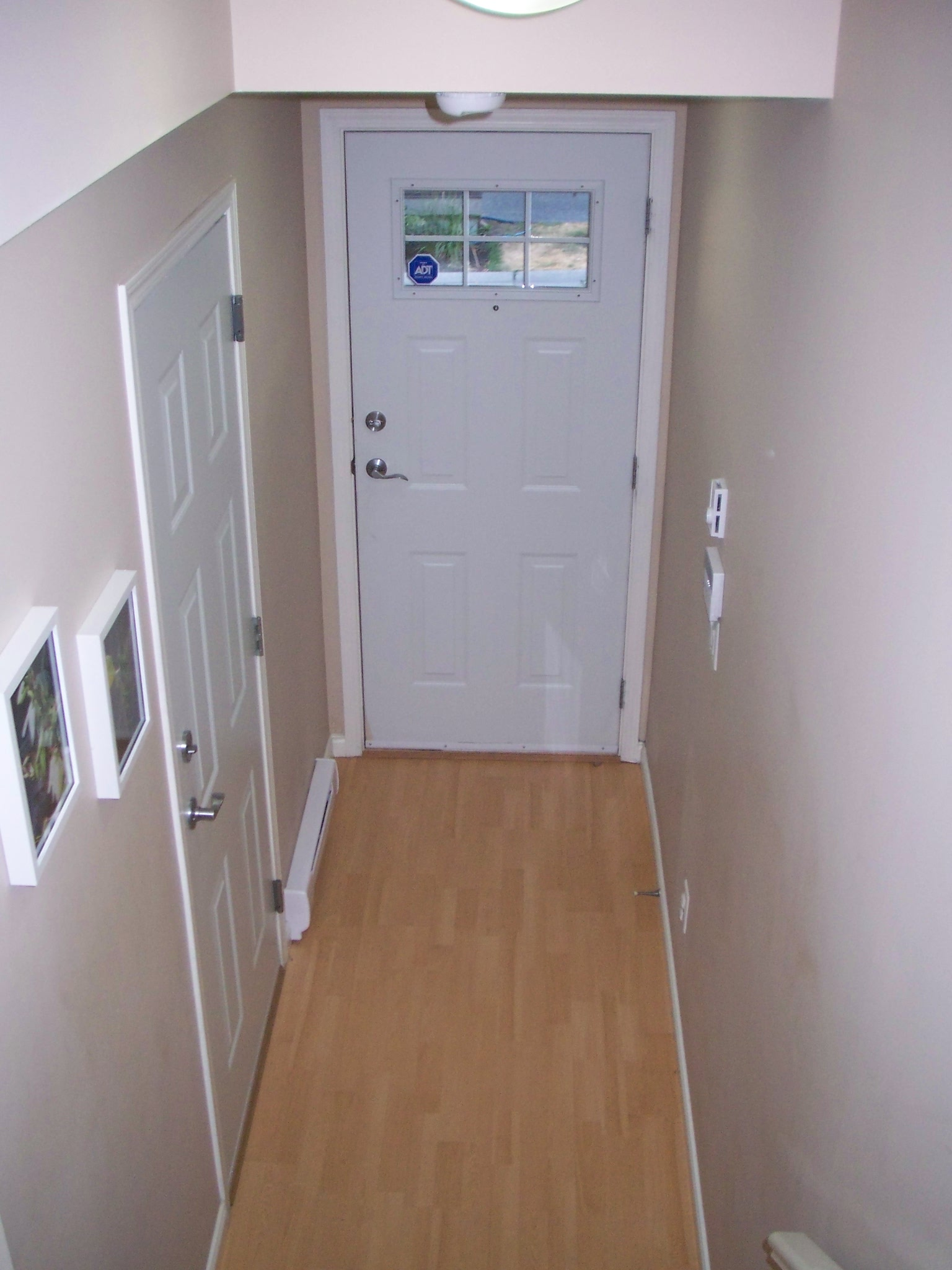 My very drab and uninteresting entryway. No after picture for you here. This is how it is for now.