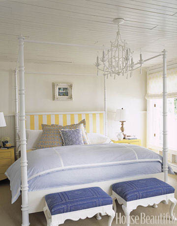 A little bit of french country yellow and blue