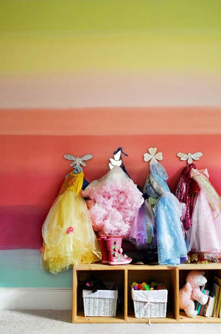 Kids rooms or playrooms are about the only place you should see a polychromatic scheme in my opinion