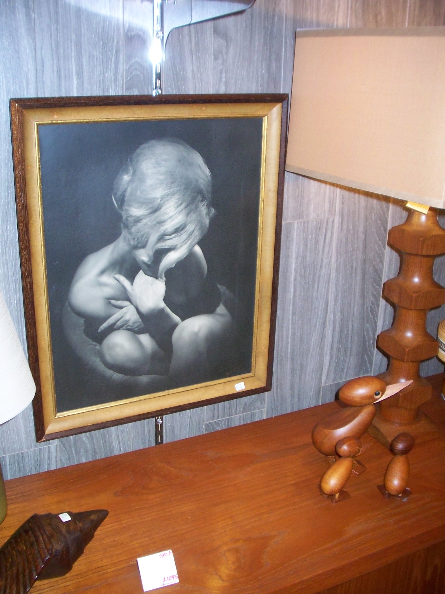 I love this photograph but my husband thought it was a bit risque for the living room.