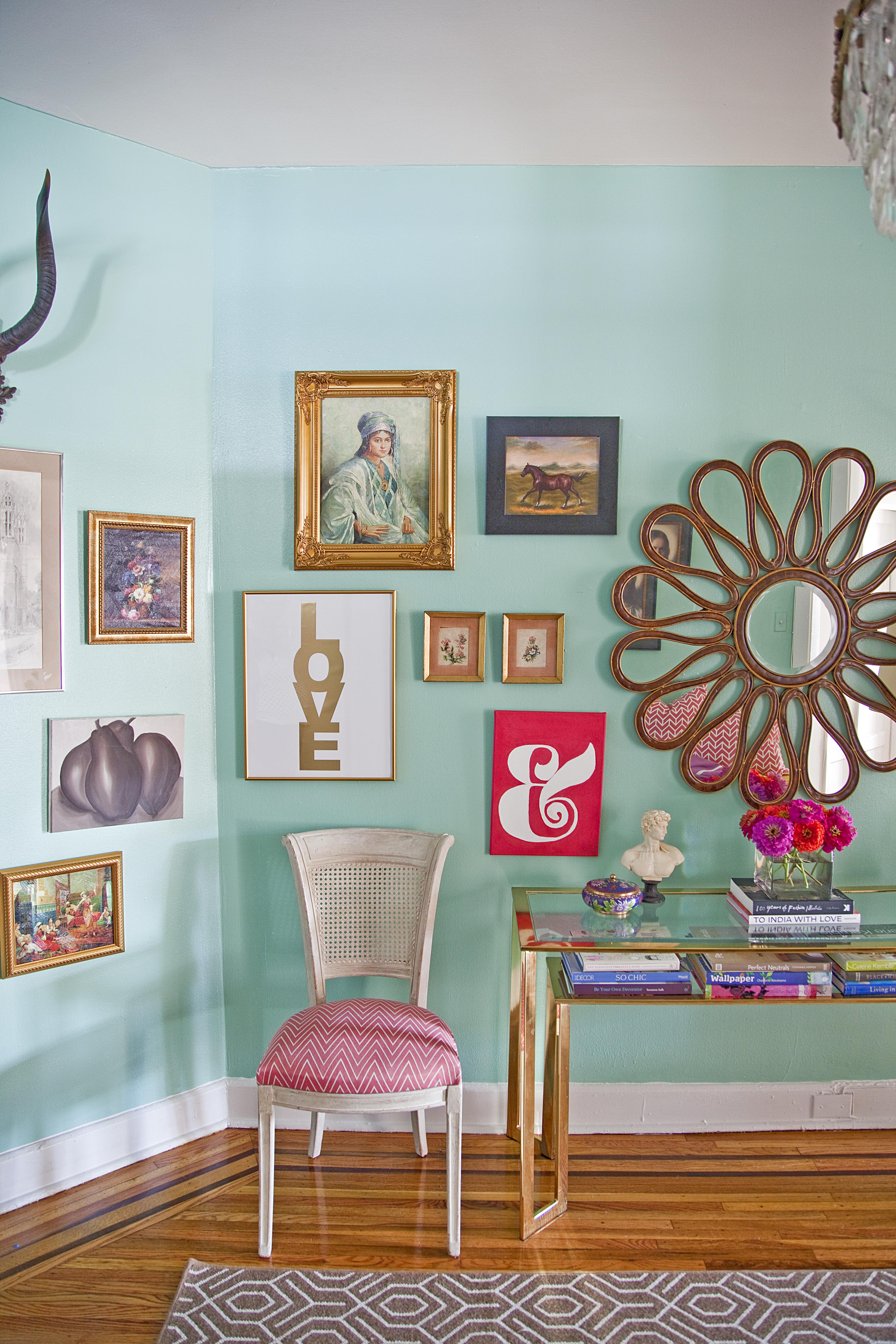 Blue Colour Schemed Rooms