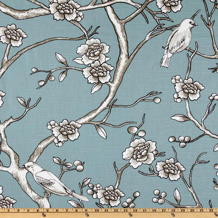 Dwell studio vintage blossom azure