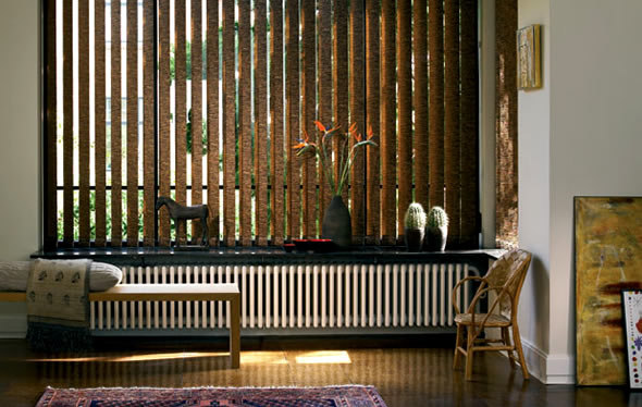 vertical blinds modern