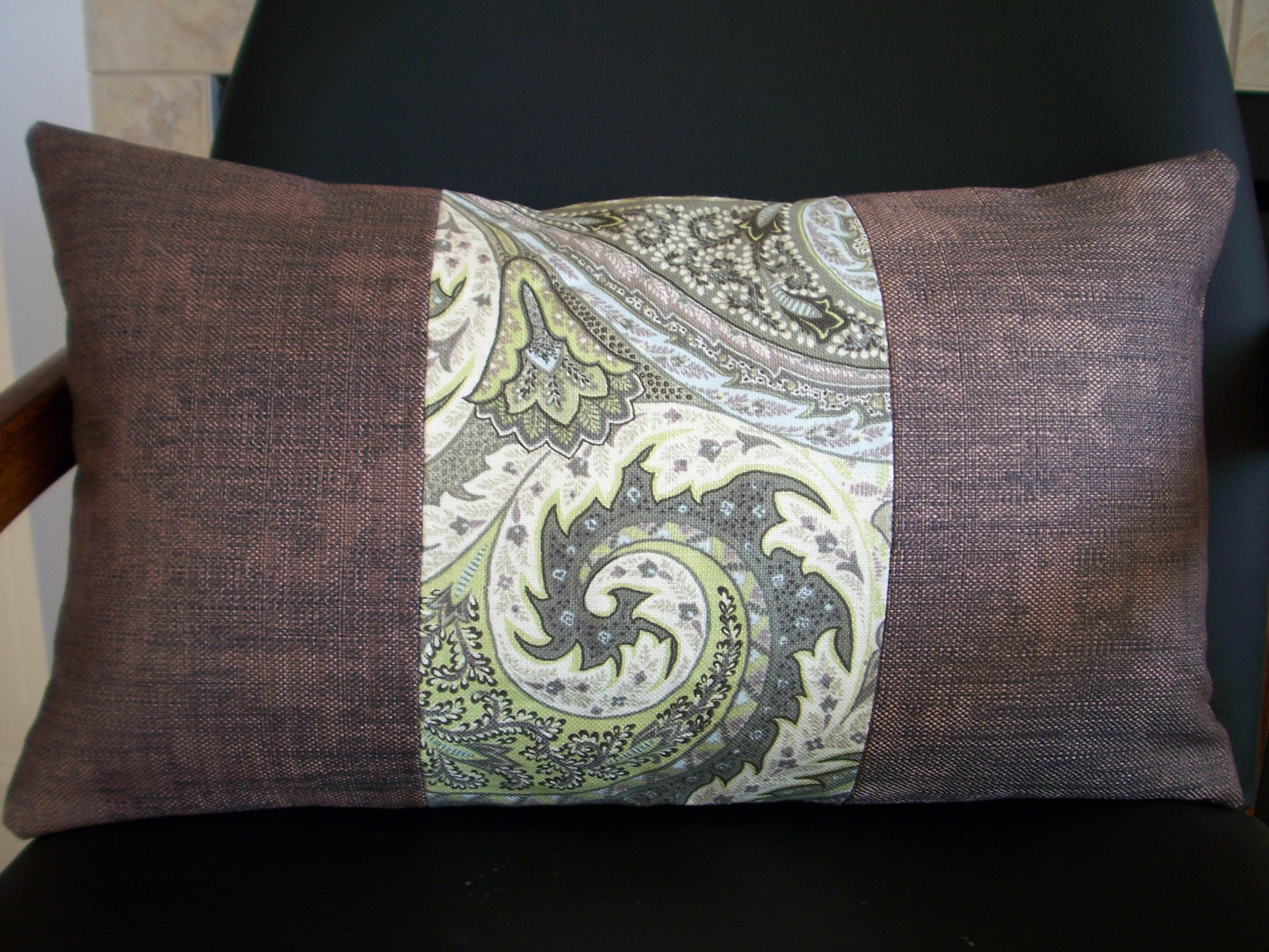 Recognize this fabric? It is left over from my Chairs for Charity chair. This one isn't posted on etsy yet.