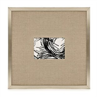 The warmth of the silver leaf frame and the texture of the linen matte are what made me fall in love with these frames.