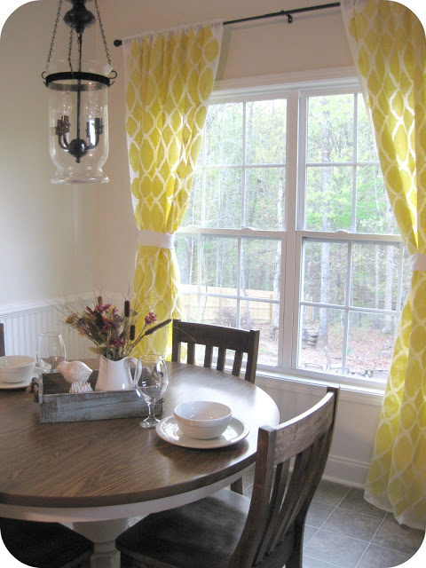 For a great how to on how to stencil curtains check out the tutorial on twentysomething