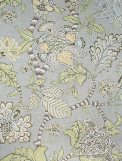 Another Paul Kaufman to love. I made my headboard with this fabric and the colours are very soothing.