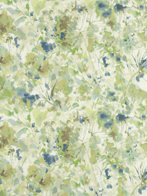 A beautiful floral reminiscent of a water colour painting by Robert Allen. Sold at robertallendesign.com