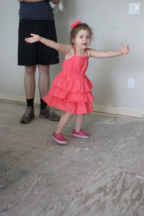 "All dancing done to Sofia's enthusiastically monotone version of ""Let It Go"" from Frozen."