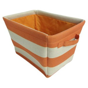 Ciro Striped basket from Target comes in multiple colours.