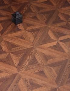 A tudor parquet pattern.