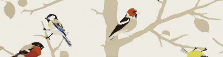Bird Fabric Header