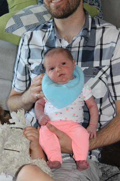 Anna Kathleen LaRoy. Born May 1.