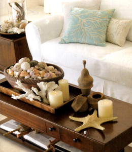 Too much! Where does the coffee go on this coffee table!