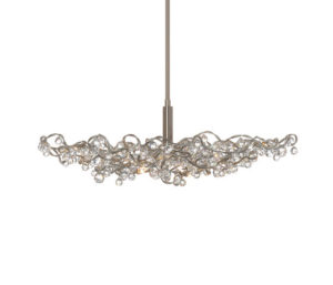 A very modern chandelier with sparkle from Archi Tonic